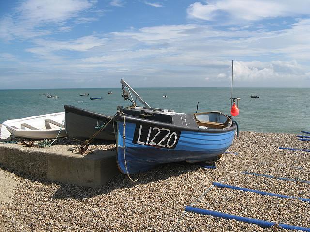 Selsey Beach Boat