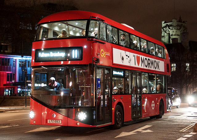 Public Bus In London