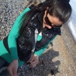 St Margaret's Bay Beach Girl