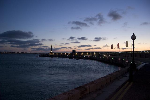 Margate Harbour Sunset