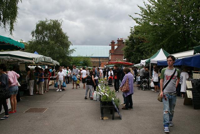 Queens Park market