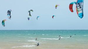 kites at worthing beach