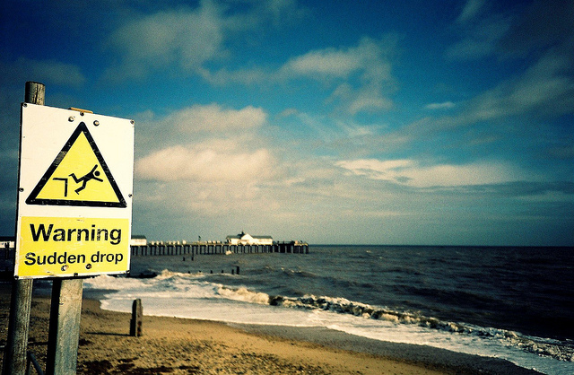 Southwold Pier beach Warnings