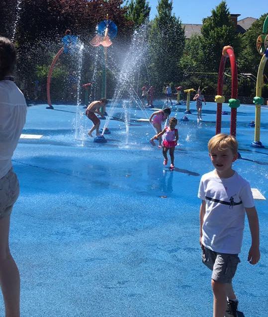 Kensington Memorial Park water play