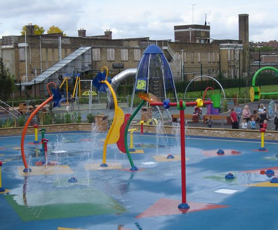 Kensington Memorial Park water play area