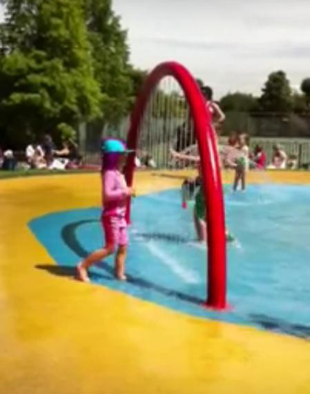 Wimbledon Sprinkler Park