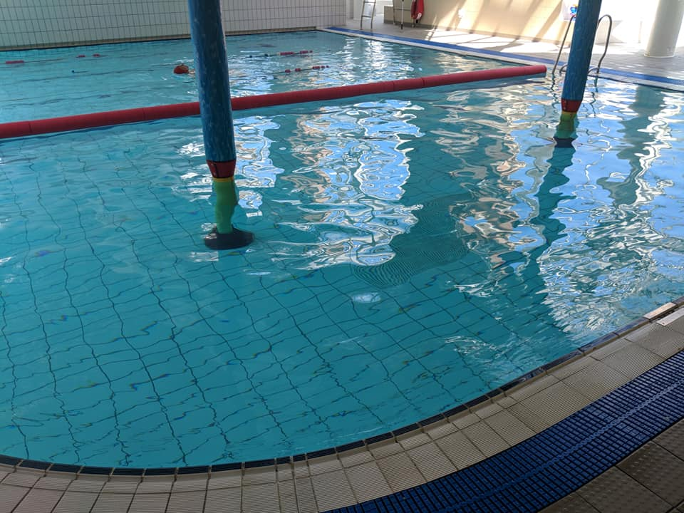aqua splash area at leyton leisure