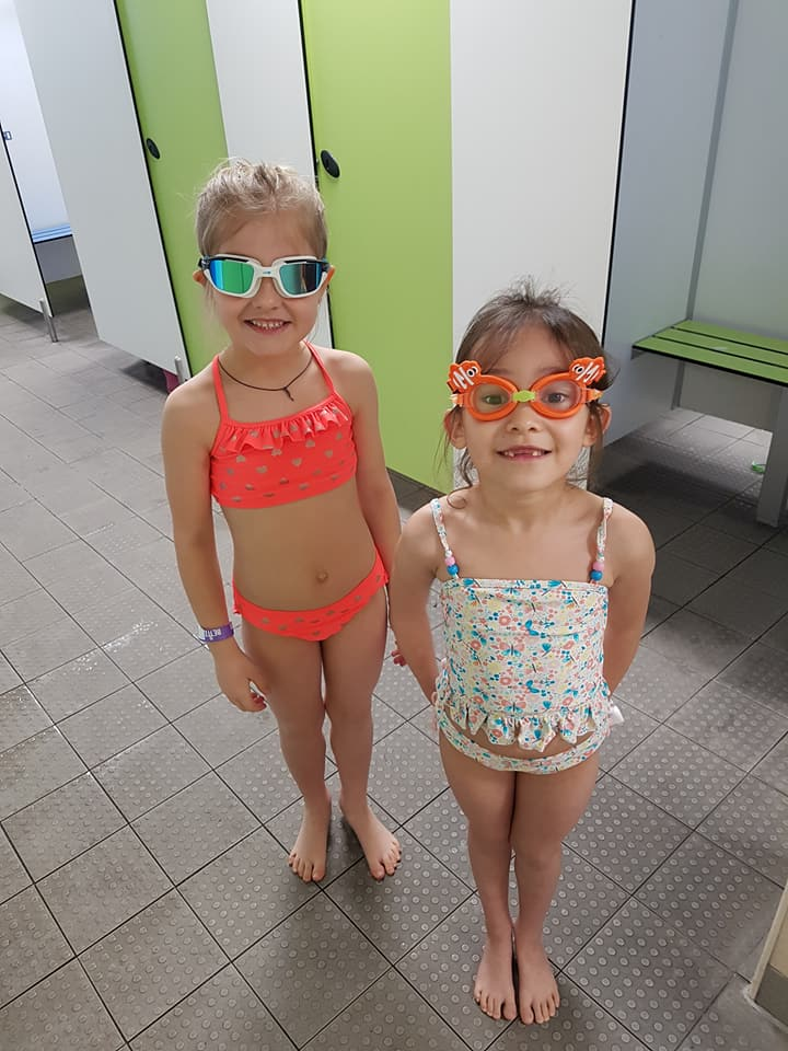 Children at Leyton Leisure centre