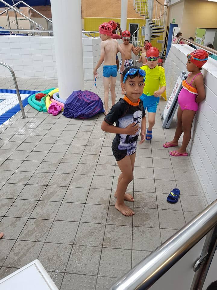 kids at leyton leisure lagoon